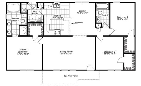 modular homes nc floor plans mobile home floor plans north carolina