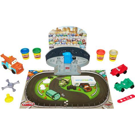 play doh cars 2 mold n go speedway disney pixar cars toys cars 2 race track set kid s play