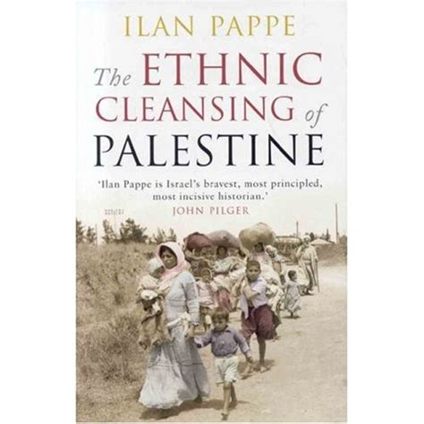 the ethnic cleansing of palestine ilan pappe book