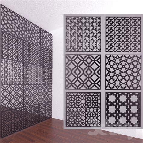 islamic pattern revit 3d models 3d panel islamic decor panels