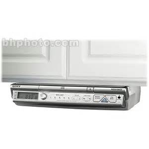 sony icf cd543 under cabinet kitchen cd clock radio - sony under cabinet kitchen cd player clock radio on popscreen