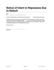Default Notice Template by 10 Best Images Of Llc Notice Template Special