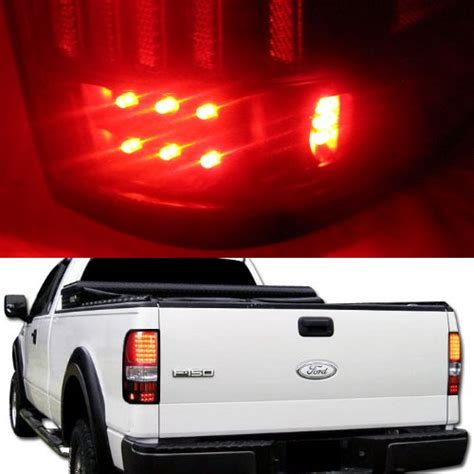2004 ford f150 tail lights 2004 2008 ford f150 f 150 led altezza tail lights black
