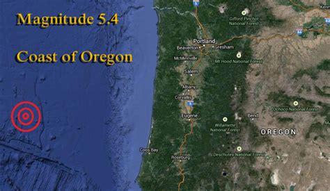 earthquake oregon oregon earthquake magnitude 5 4 end time bible prophecy