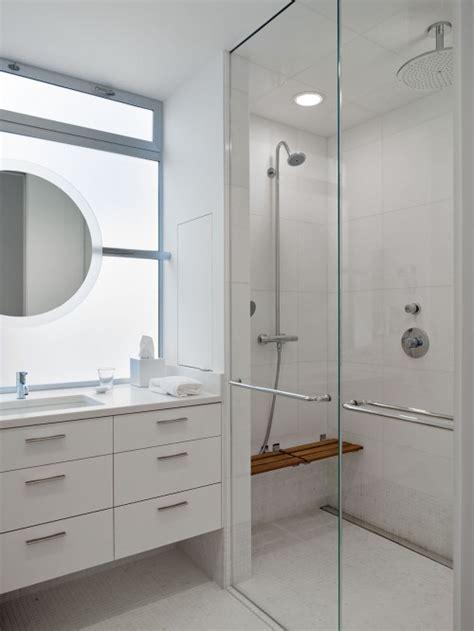 Modern Shower Design Modern Bathroom Moroso Construction Mirror In Front Of Door