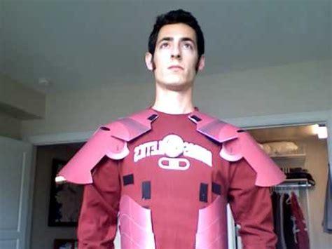 iron man costume built paper youtube