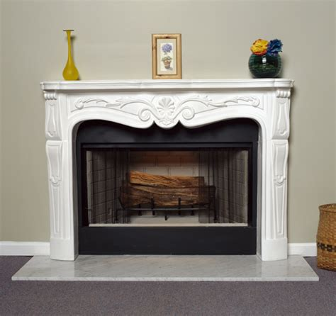 Plaster Fireplaces by A Plus Inc Estate Series Plaster Mantels