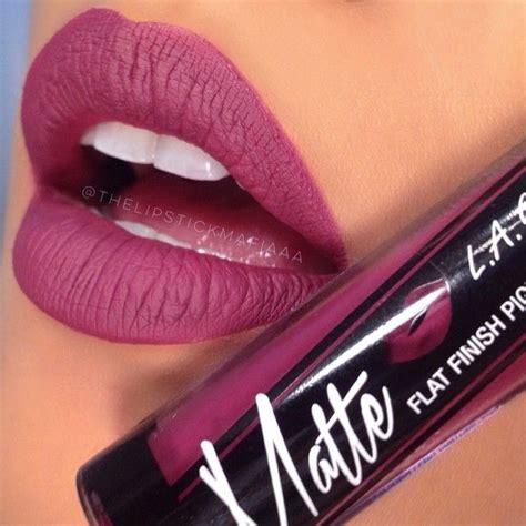 Lipstik La Matte l a cosmetics matte pigment rebel beautybliss