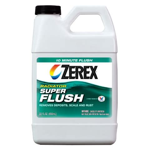 Prestone Radiator Flush Cleaner 2in1 Light Flushing And Heavy Duty zerex zxc01 radiator flush 22 oz auto parts