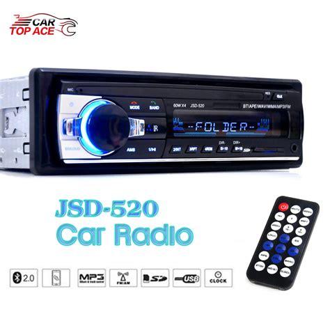 Mp3 Fm Radio Jsd 520 jsd 520 car radio 1 din stereo audio mp3 player