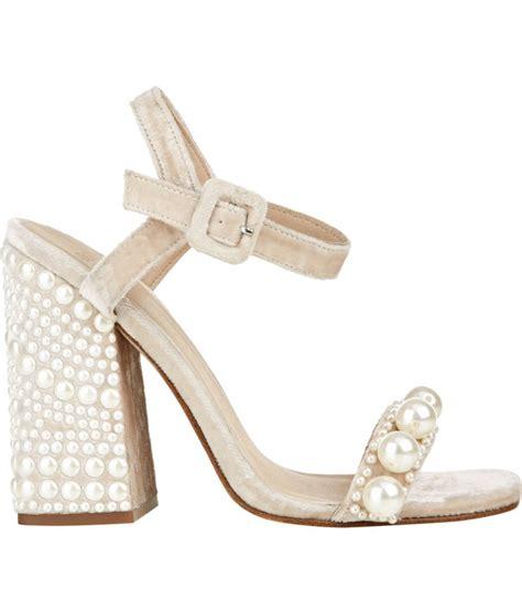 Exclusive Wedges Lace Fox 12cm Murah chunky wedding heels heels zone