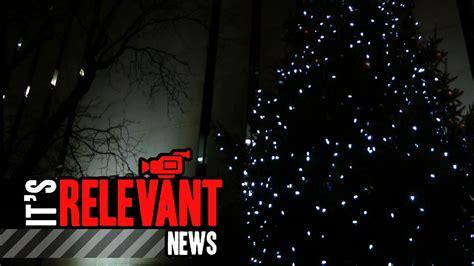 city tree lights up sono norwalk ct itsrelevant com
