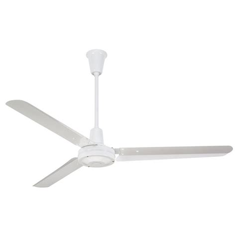 White Industrial Ceiling Fan by Westinghouse Industrial 56 In White Ceiling Fan 7812700