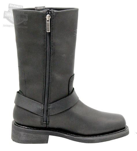 mens harley riding boots 95353 harley davidson 174 mens hustin waterproof black high