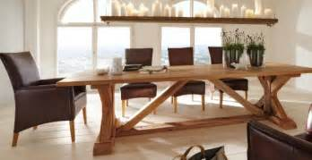table salle a bois massif