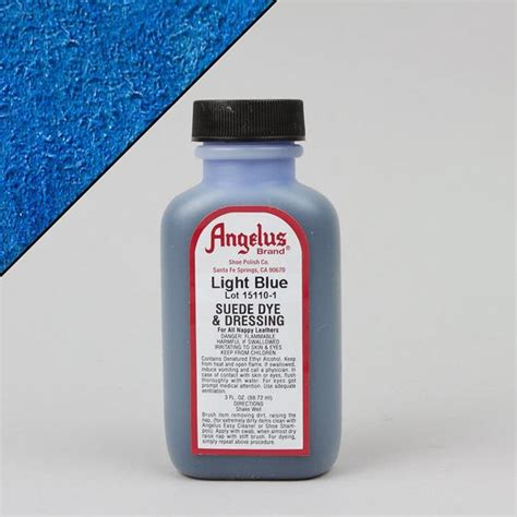 angelus paint light grey angelus leather paint dyes light blue suede dye 3oz