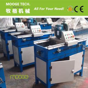 china automatic plastic crusher knife blade grinding