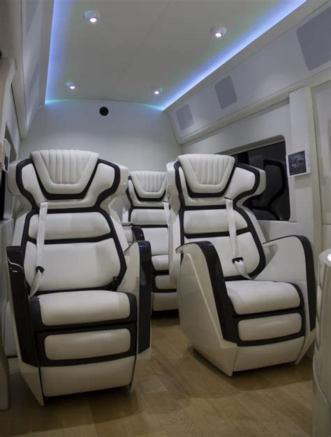 Bar Bench Seating Ford Transit Skyliner Concept Is The New York Auto Show S