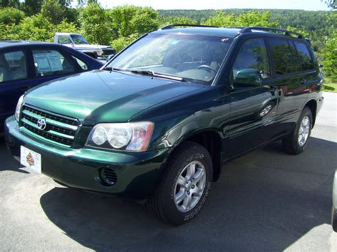 2002 Toyota Highlander Transmission 2002 Toyota Highlander Information And Photos Zombiedrive