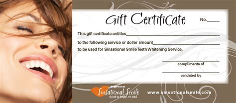 dental gift certificate template dental gift certificate template dental gift certificate