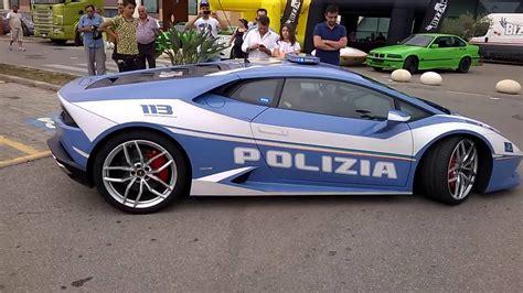 Lamborghini Police by Lamborghini Huracan Polizia Italian Police Youtube