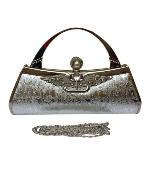 slingbag silver buy taurus silver synthetic sling bag at best prices in