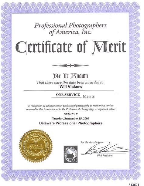 merit certificate templates about us hitched photography