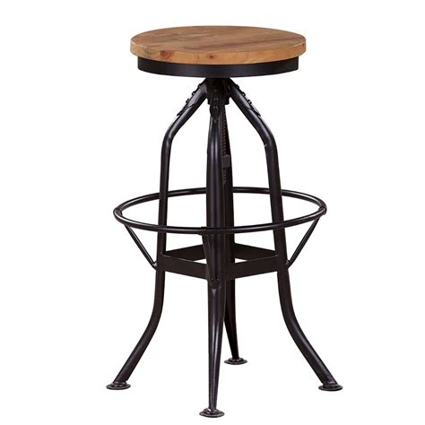 slim bar stool home envy furnishings solid wood alfresco industrial stool home envy furnishings solid