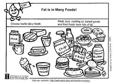 i grassi nell alimentazione disegno da colorare grassi nell alimentazione cat 5915