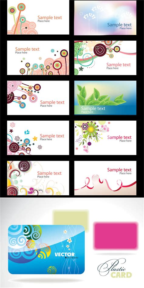 free design business card templates business cards design templates vector free stock vector