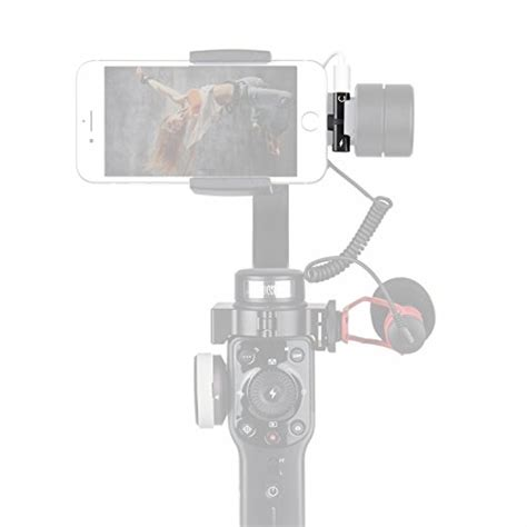 holafoto 2in1 adapter charge earpod audio adapter attach microphone to gimbal such as zhiyun