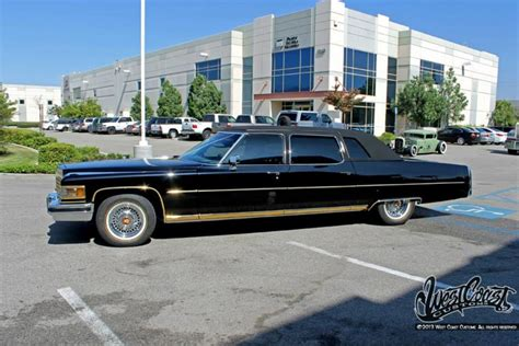 kid rock cadillac kid rock s 1975 cadillac west coast customs corona ca