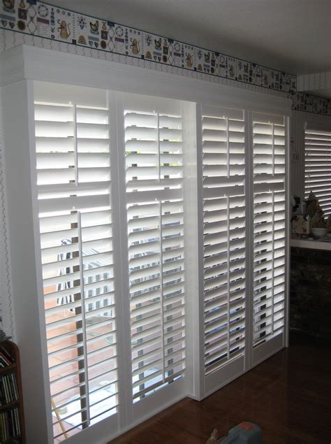 Sliding Plantation Shutters For Patio Doors Sliding Wood Shutters For Patio Doors Sliding Shutters Are Great For Sliding Glass Patio Doors