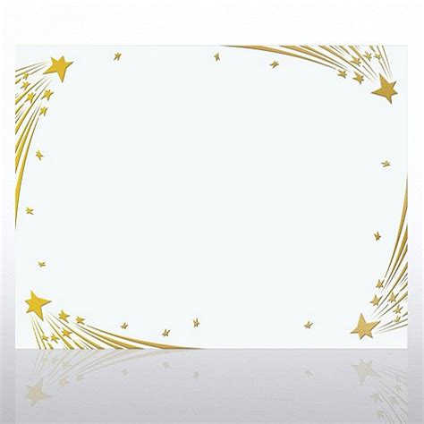 shooting certificate templates shooting foil white certificate paper at baudville