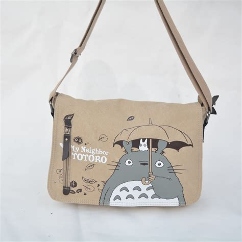 My Shoulder Bag by 2016 Anime My Totoro Messenger Canvas Bag