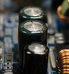 bad capacitors on samsung tv i a samsung ps51d550 when i switched it on it turned itself it makes clicking noise