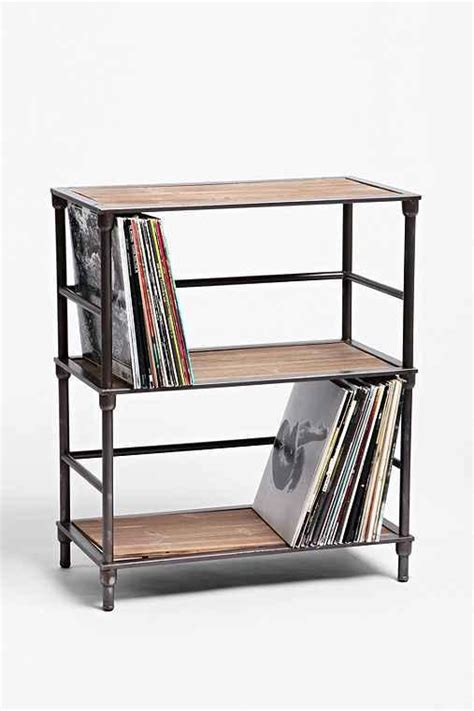 vinyl storage shelves vinyl storage shelf from outfitters my own space