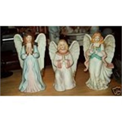 home interior angel figurines home interior 3 angel figurines 5606 5809 1474 12 27 2008