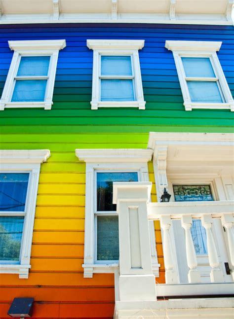 Hausfassade Modern Streichen by Hausfassade Streichen Bringen Sie Alle Regenbogenfarben
