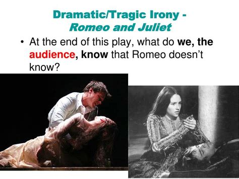 exle of verbal irony in romeo and juliet dramatic irony in romeo and juliet www imgkid the