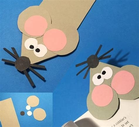 Mouse Paper Craft - paper mouse craft 2 171 preschool and homeschool