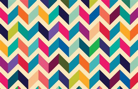 Kitchen Dining And Living Room Design multicoloured zig zag pattern wall mural muralswallpaper
