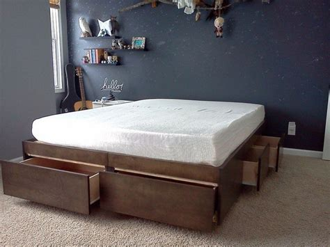 bed with storage space space efficient bed with storage ideas2live4