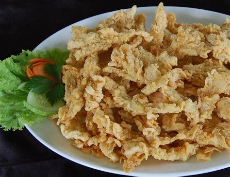 resep  membuat jamur crispy gurih renyah resep harian