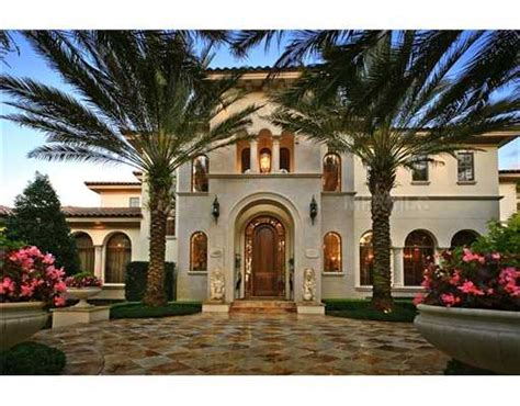 florida mediterranean homes the bellagio a mediterranean style estate in windermere