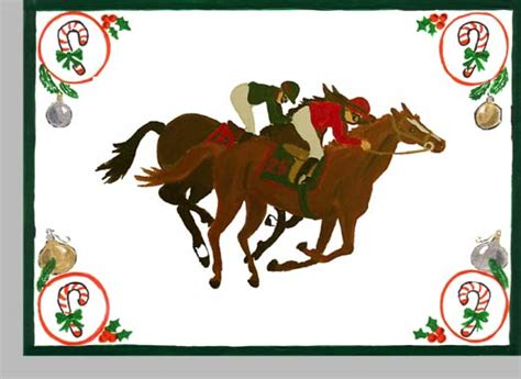 Printable Horse Christmas Cards | 8 best images of horse free printable holiday cards