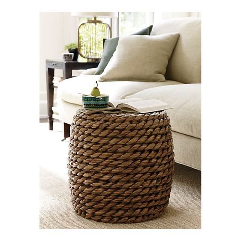 Crate And Barrel Ottoman Coffee Table 1000 Ideas About Crate Side Table On Crates