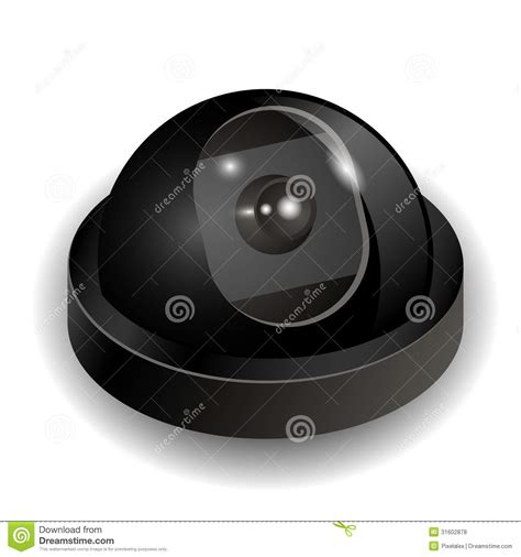 format file video cctv security camera icon stock photo image of background