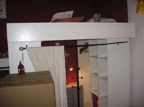 Hochbetten Mit Kleiderschrank hochbett mit begehbarem kleiderschrank