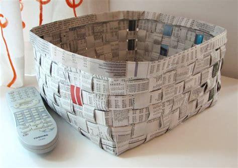 Keranjang Dari Koran 9 ide terbaik untuk kerajinan tangan dari kertas dan koran bekas creative blogs